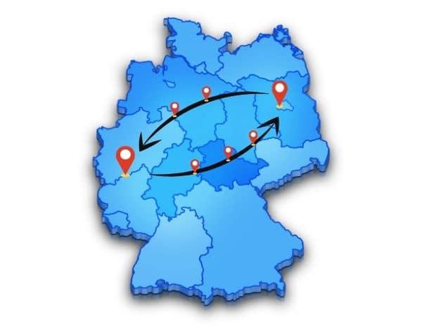 Beiladung Bonn oder nach Berlin