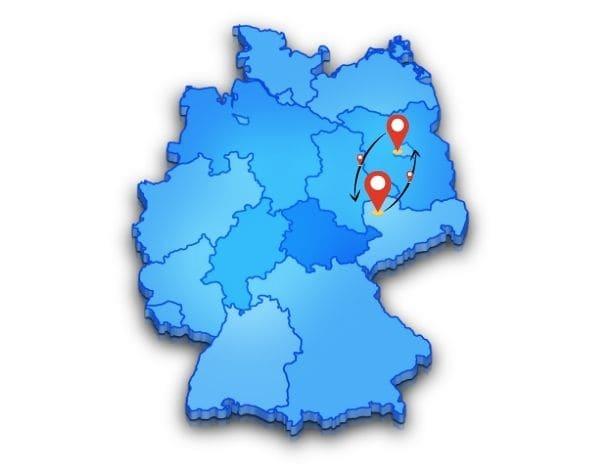 Günstige Beiladung Berlin Leipzig online einfach und sicher buchen