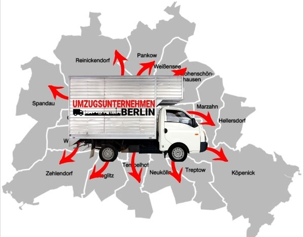 Umzugshelfer gib es in allen Berliner Bezirke