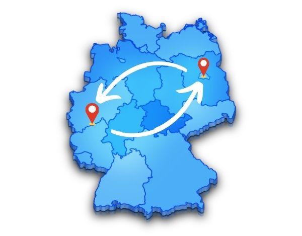 kostet ein Umzug von Berlin nach Bonn