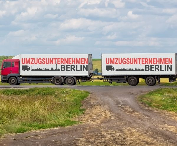 Umzugsfirma auf den weg von Berlin nach Hannover