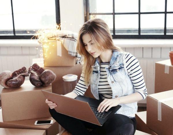 Einfach online seine Beiladung buchen und günstig umziehen