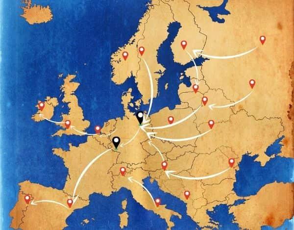 Europa nach Berlin oder Bonn ist kein Problem