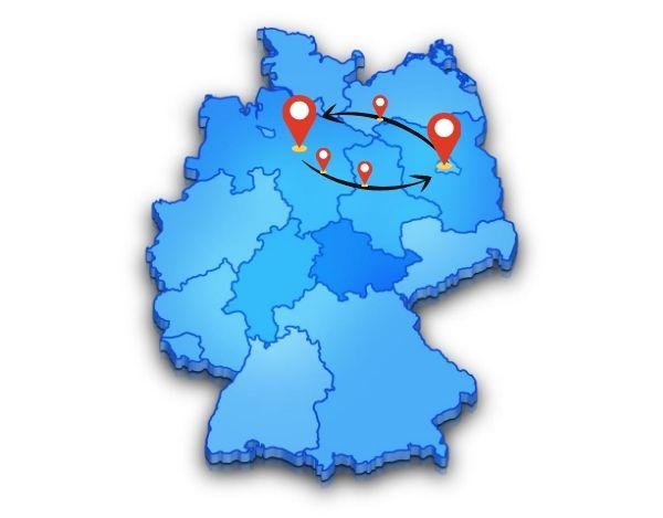 Beiladunghat klare Vorteile wenn du von Berlin nach Hannover umziehst