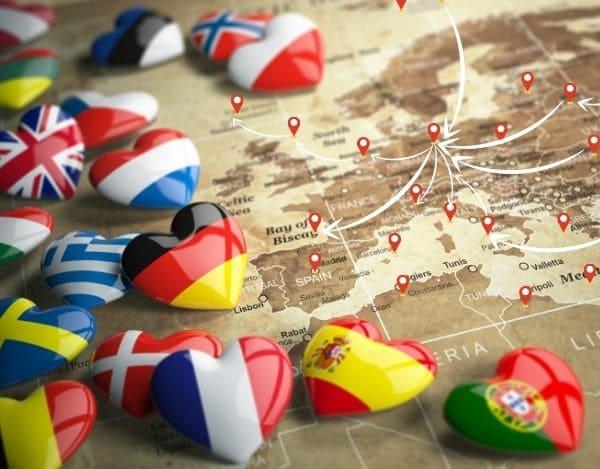 Von Europa nach Berlin mit Fernumzüge
