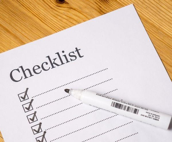Ummelden Checkliste