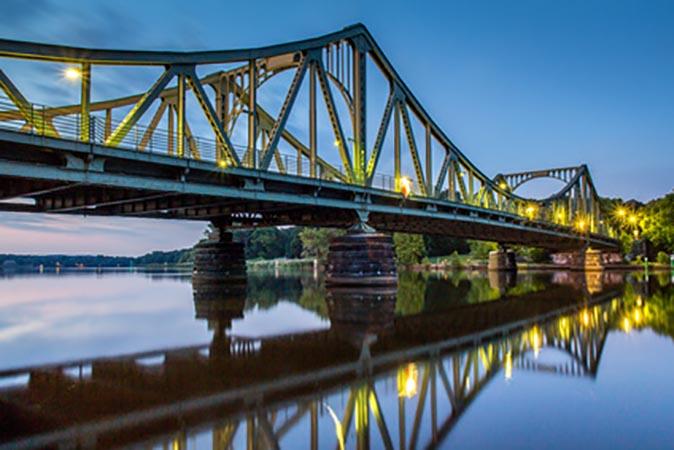 Glienicker Brücke in Potsdam Berlin