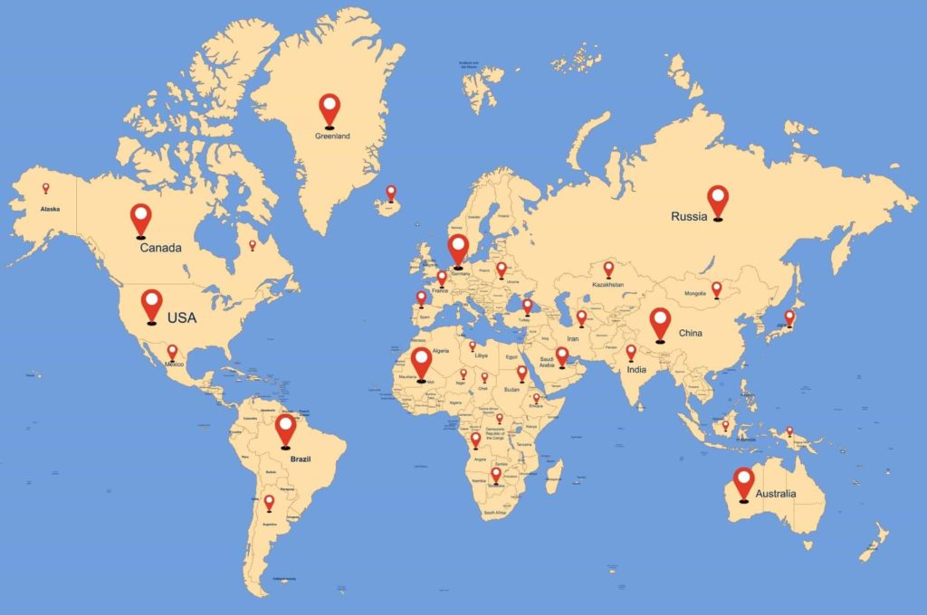 Weltweit auswandern